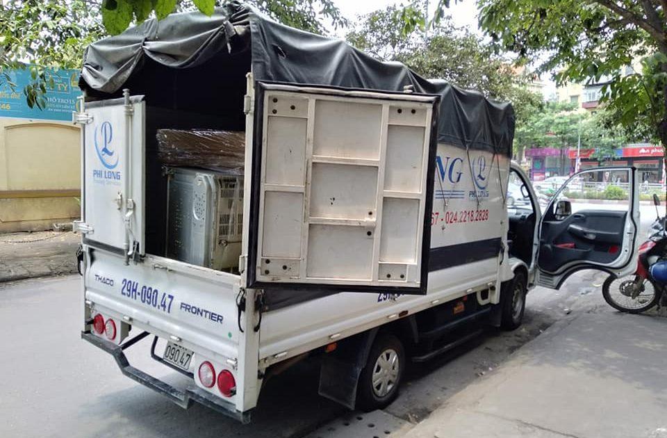 Dịch vụ xe tải chở hàng chất lượng Phi Long tại phố Cổ Điển