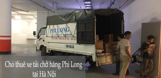 Dịch vụ xe tải tại phường Thụy Khuê