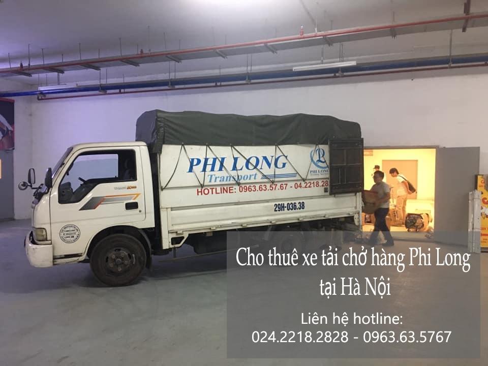 Dịch vụ xe tải Phi Long tại phố Mậu Lương