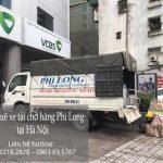 Dịch vụ giá rẻ xe tải Phi Long tại phố Dương Xá