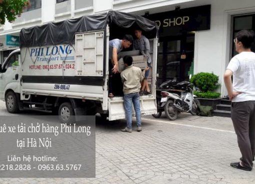 Dịch vụ xe tải giá rẻ Phi Long phố Lê Trực