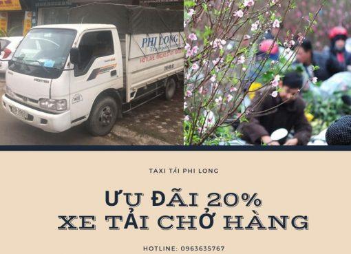 Dịch vụ xe tải tại xã Hợp Thanh