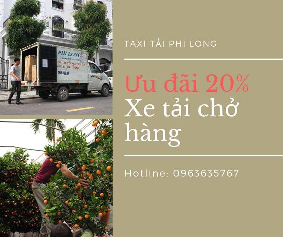 Dịch vụ xe tải tại xã Bột Xuyên