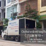 Dịch vụ cho thuê xe tải tại xã Hùng Tiến