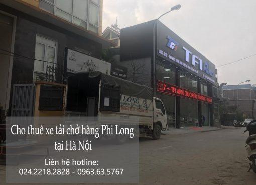 Taxi tải chở hàng Phi Long đường Trần Quang Khải