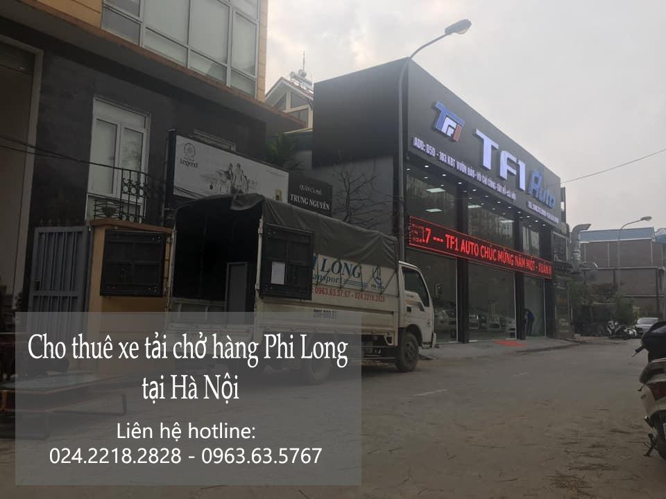 Xe tải chở hàng giá rẻ Phi Long phố Cao Thắng