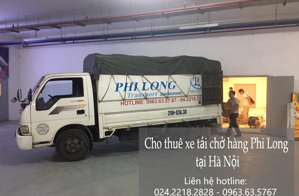 Dịch vụ xe tải Phi Long tại xã Di Trạch