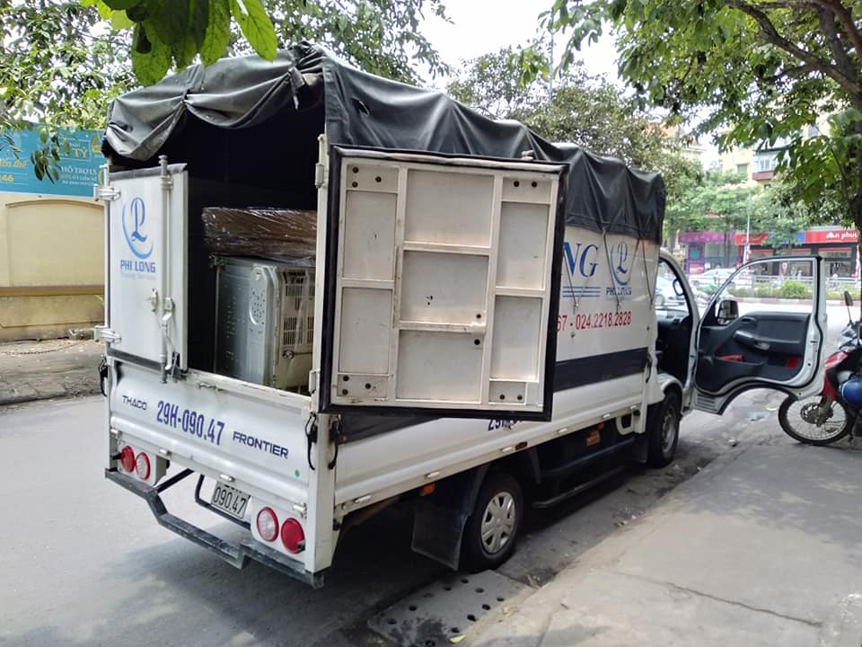 Dịch vụ xe tải chất lượng Phi Long đường Bưởi