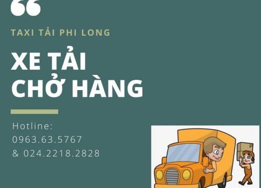 Dịch vụ xe tải Phi Long tại xã Hoàng Long