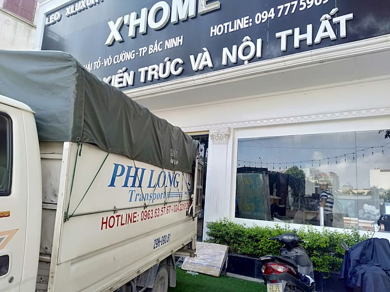 Dịch vụ xe tải Phi Long tại xã Nam Phong