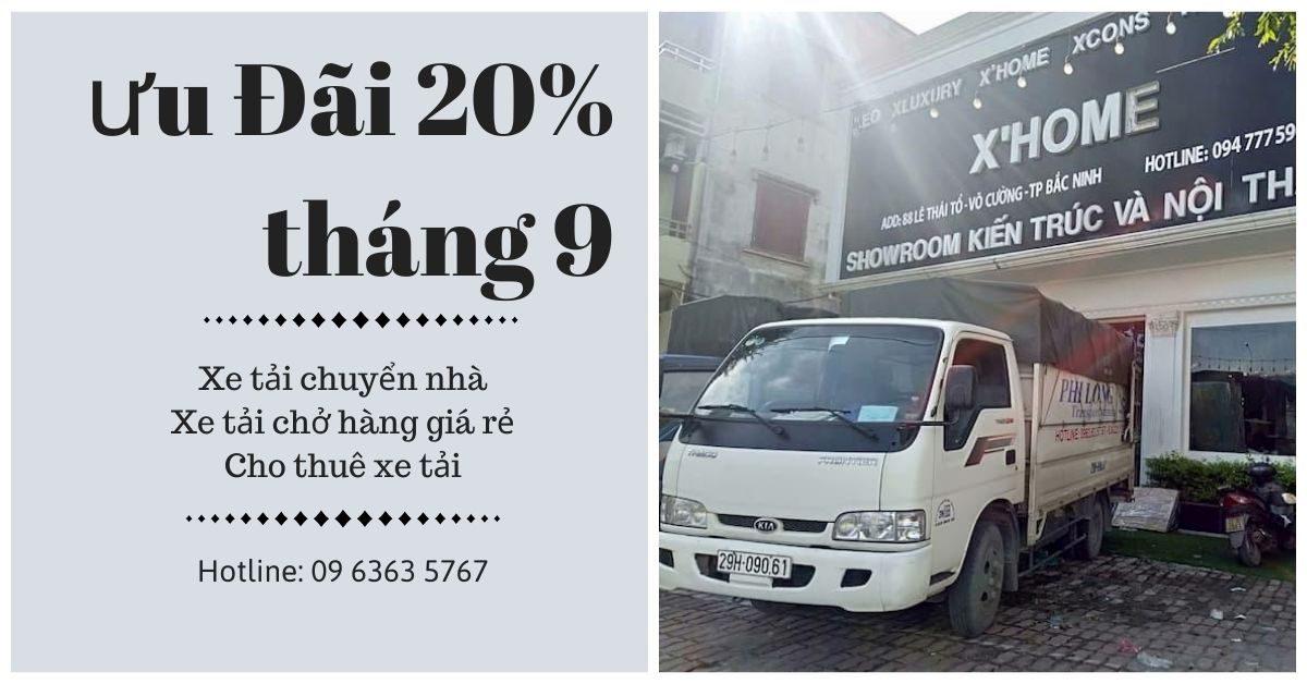 Dịch vụ xe tải Phi Long tại xã Minh Tân