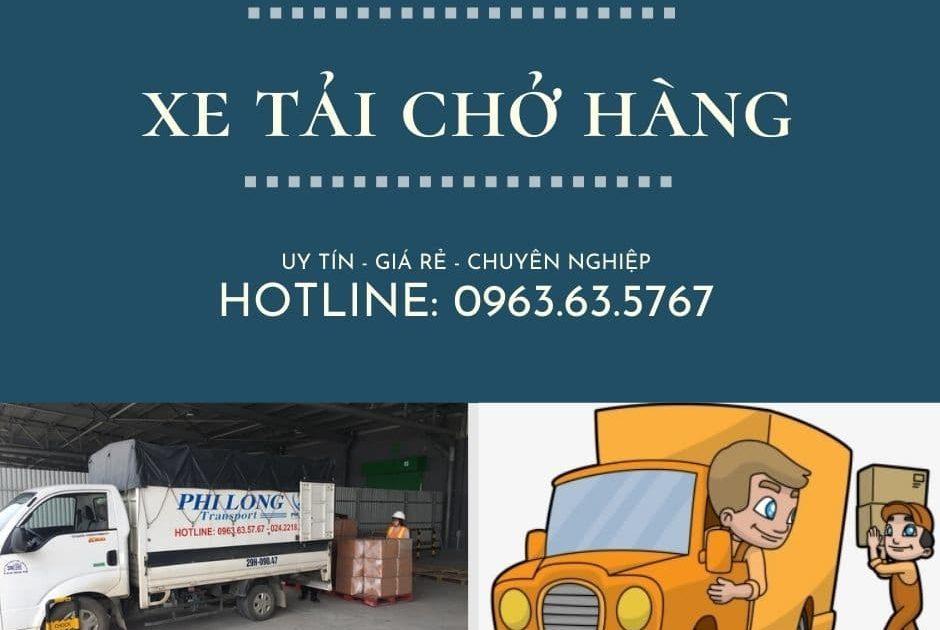Dịch vụ xe tải chở hàng Phi Long tại xã Vân Từ