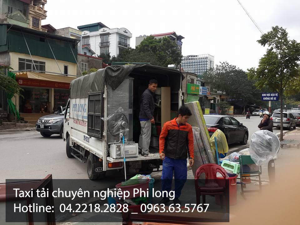 Dịch vụ xe tải Phi Long tại đường Mễ Trì Hạ
