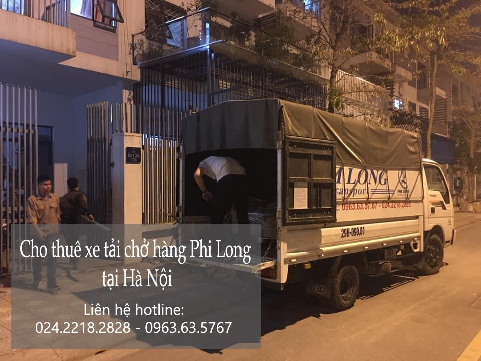 Dịch vụ xe tải Phi Long tại phố Lộc