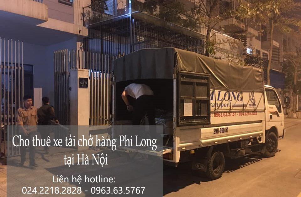 Dịch vụ xe tải Phi Long tại xã cần Kiệm