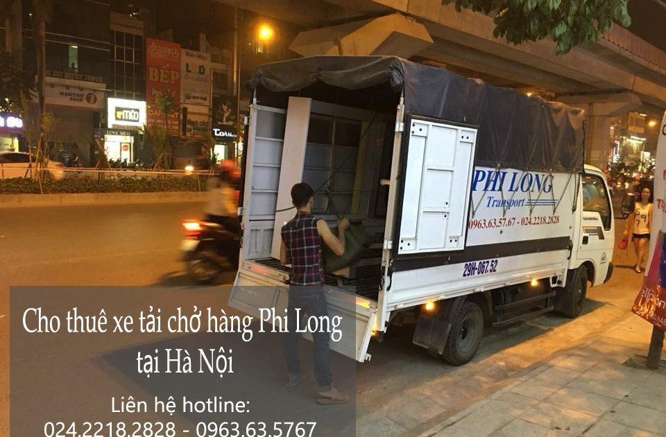 Dịch vụ xe tải Phi Long tại đường Cương Kiên
