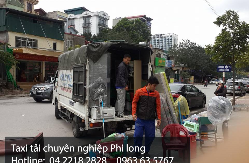 Dịch vụ xe tải Phi Long tại xã Hữu bằng