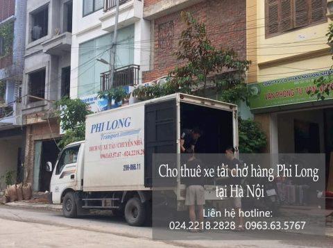 Dịch vụ xe tải Phi Long tại phố Thiền Quang