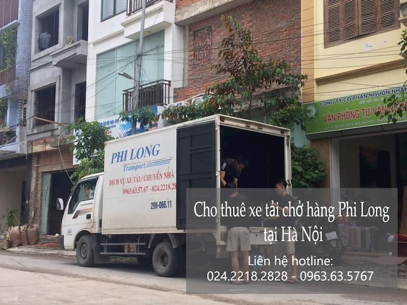 Dịch vụ xe tải Phi Long tại đường hồng hà