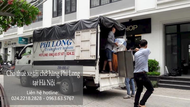Dịch vụ xe tải Phi Long tại đường chu huy mân