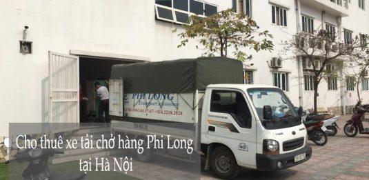 Dịch vụ xe tải chở hàng Phi Long tại xã Tiến Xuân