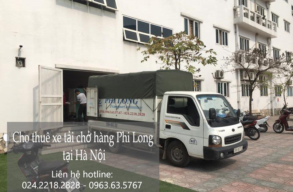 Dịch vụ xe tải chở hàng Phi Long tại phường long biên