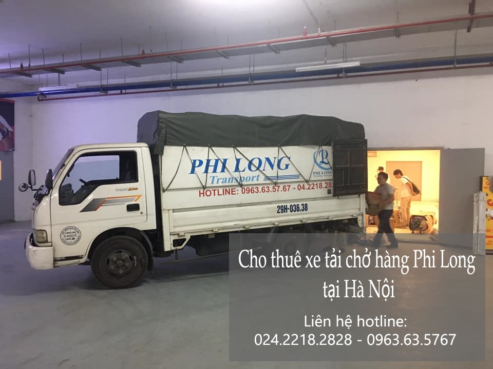 Dịch vụ xe tải Phi Long tại xã thạch hòa