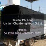 Dịch vụ xe tải Phi Long tại đường Thị Cấm