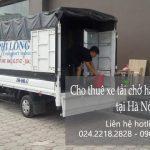 Dịch vụ xe tải Phi Long tại đường nam trung yên