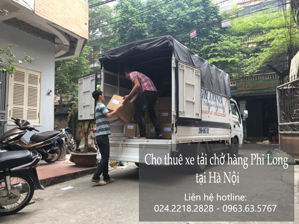 Dịch vụ xe tải Phi Long tại đường Trịnh Văn Bô