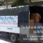 Dịch vụ xe tải Phi Long tại đường Tương Mai