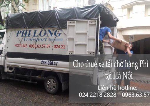 Dịch vụ xe tải Phi Long tại đường Quảng Bá