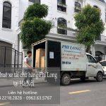 Dịch vụ xe tải vận chuyển tại phố Ngô Viết Thụ