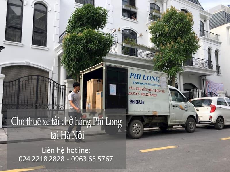Dịch vụ xe tải vận chuyển tại đường vũ tông phan