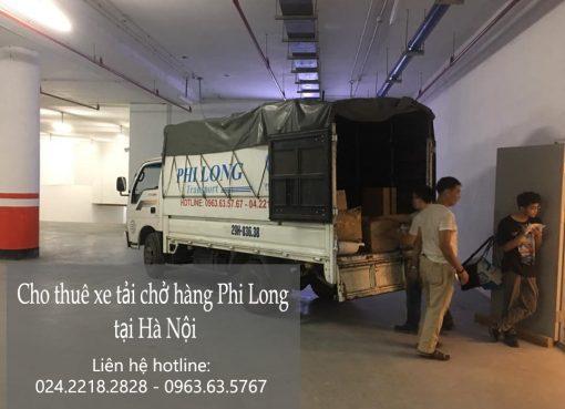 Dịch vụ xe tải Phi Long tại đường Phúc Diễn