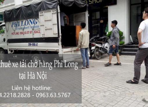 Dịch vụ xe tải Phi Long tại đường đào văn tập