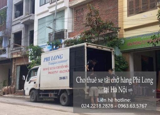 Dịch vụ xe tải Phi Long tại đường đức giang