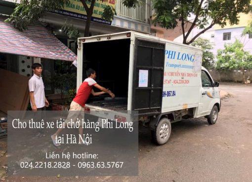 Dịch vụ xe tải Phi Long tại đường Ngọc Lâm