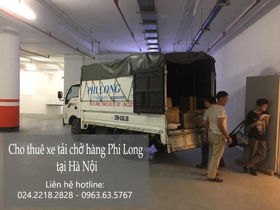 Dịch vụ xe tải Phi Long tại đường cổ linh