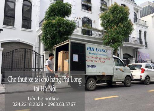 Dịch vụ xe tải Phi Long tại đường hội xá