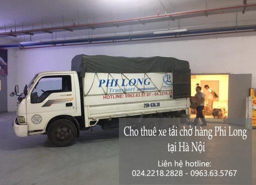 Dịch vụ xe tải Phi Long tại đường hoàng như tiếp