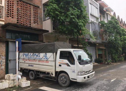 Dịch vụ xe tải vận chuyển tại phố Trường Lâm