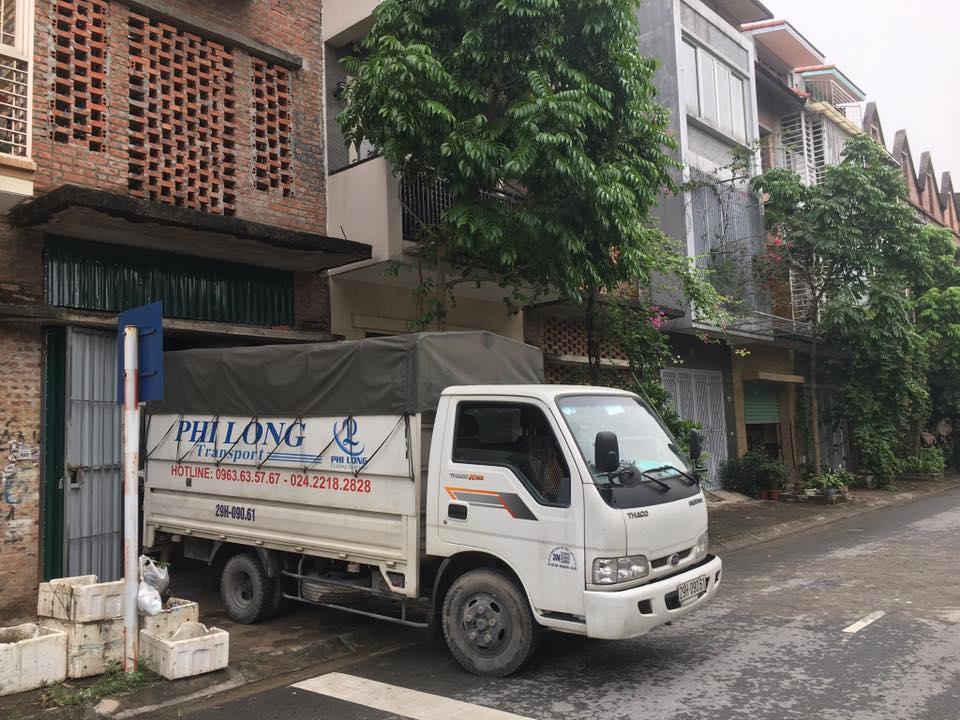 dịch vụ xe tải tại đường hồng tiến