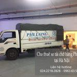 Dịch vụ xe tải Phi Long tại đường Phú Minh