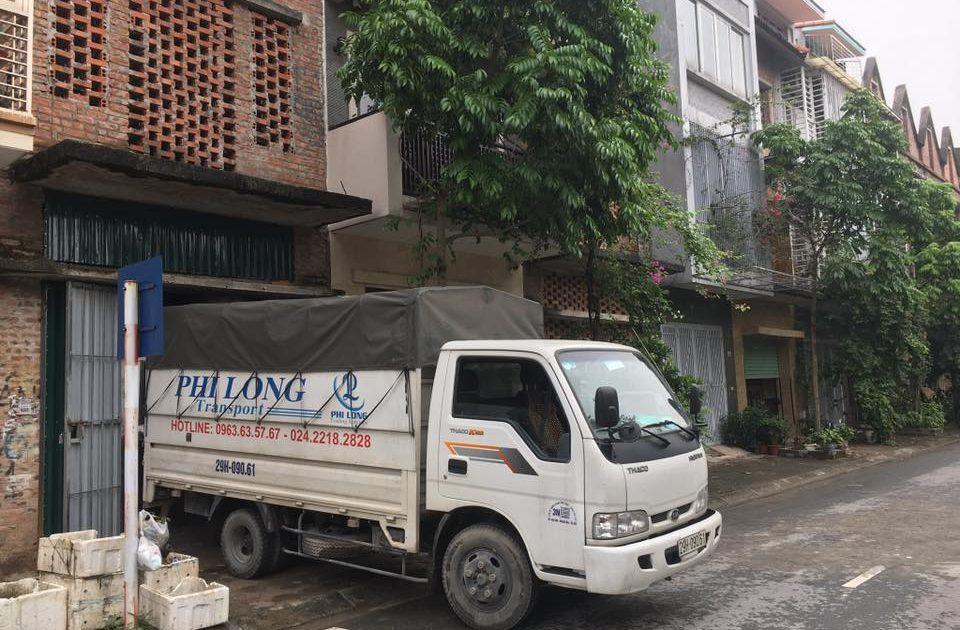 thue xe tai Phi Long tại khu đô thị Sài Đồng