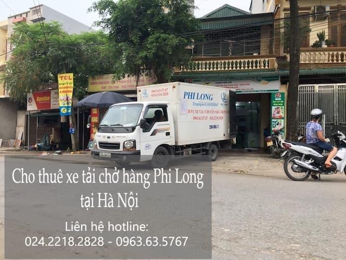 Xe tải nhỏ của công ty Phi Long tại Hà Nội vô cùng tiện ích.
