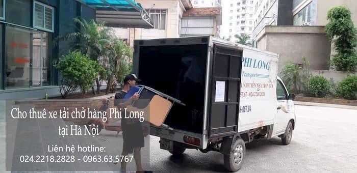 Dịch vụ taxi tải Phi Long tại đường ngô viết thụ.