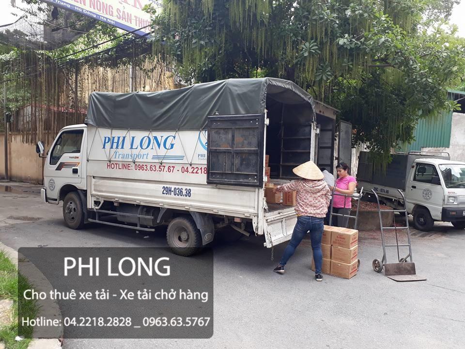 Dịch vụ taxi tải giá rẻ của phi long tại đường Lâm Hạ