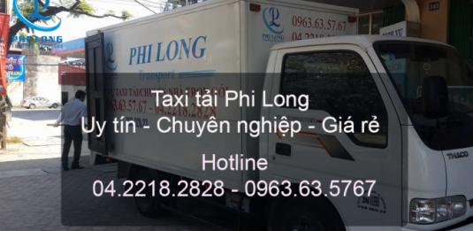 Dịch vụ xe tải Phi Long tại đường Việt Hưng