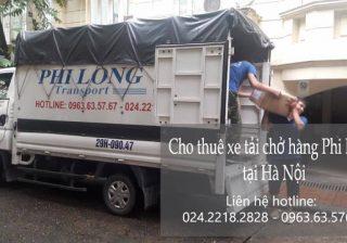Cho thuê xe tải 500kg tại đường Bồ Đề đi Thái Bình